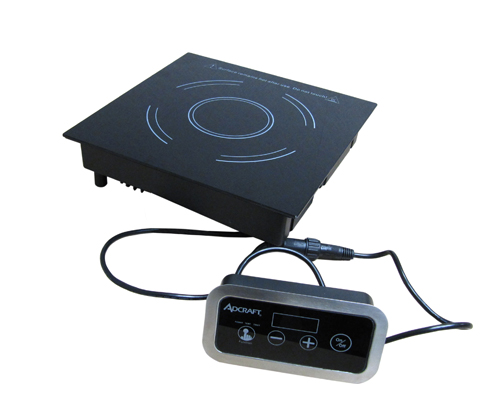 Adcraft IND-DR120V Drop-In Induction Cooker with Remote Control Box