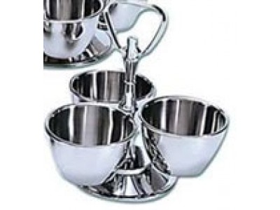 Adcraft MLS-3 3 Bowl Revolving Server