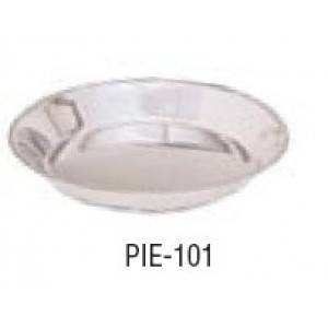 Adcraft PIE101 Stainless Steel Pie Pan 9-3/4""