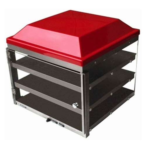 Adcraft PW-20/TOP Red Plastic Merchandiser Top for PW-20