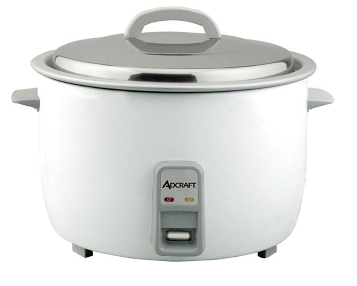 Adcraft RC-E50 Electric Rice Cooker / Warmer 50 Cup