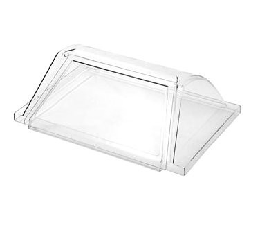 Adcraft RG-07/COV Hot Dog Grill Acrylic Sneeze Guard for RG-07