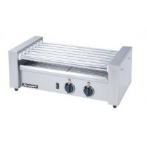 Adcraft RG-07 Commercial Countertop Hot Dog Roller Grill, 7 Rollers