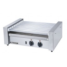 Adcraft RG-09 Commercial Countertop Hot Dog Roller Grill, 9 Rollers