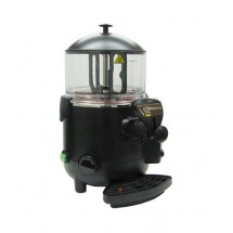 Admiral Craft HCD-5 Black 5 Liter Hot Chocolate Dispenser
