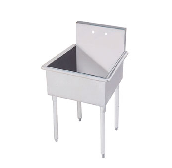 Advance Tabco 4-OP-18 Regaline Single Compartment Sink, 27""