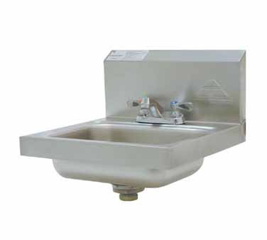 Advance Tabco 7-PS-20 Wall Mounted Hand Sink With Deck Mount Faucet