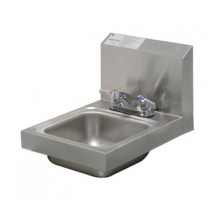 Advance Tabco 7-PS-22 Space Saver Wall Mounted Hand Sink With Deck Mounted Faucet