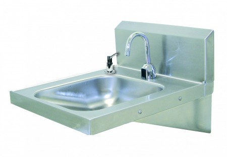 Advance Tabco 7-PS-26 A.D.A. Compliant Wall Mounted Hand Sink with Soap Dispenser