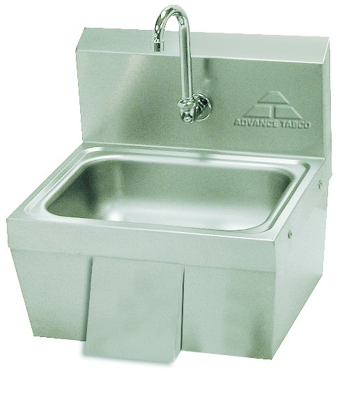 Advance Tabco 7-PS-44 Hands Free Knee Operated Hand Sink