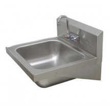 "Advance Tabco 7-PS-45 Wall-Mounted Hand Sink, 16"" x 20"""