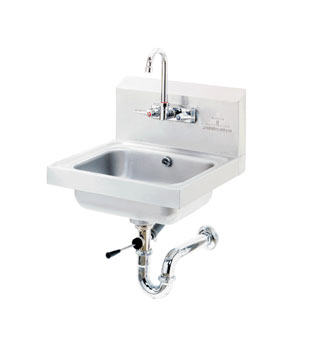 Advance Tabco 7-PS-50 Wall Mounted Hand Sink with Splash Mounted Faucet