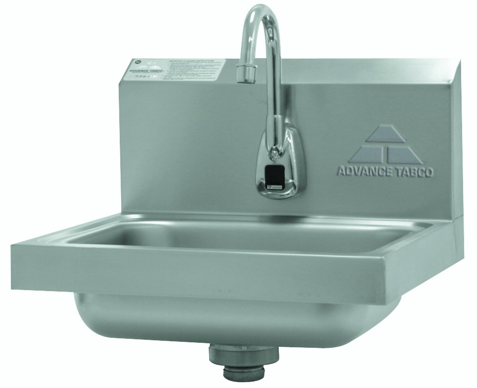 Advance Tabco 7 Ps 61 Hands Free Hand Sink With Electronic