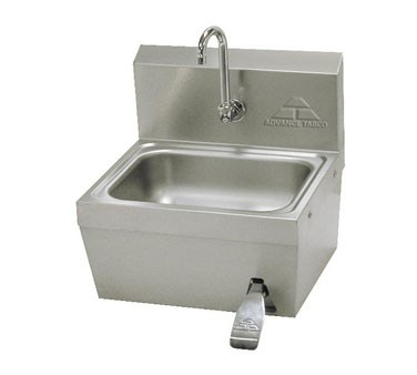 Advance Tabco 7-PS-62 Hands Free Hand Sink with Knee Operated Valve