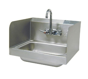 Advance Tabco 7-PS-66 Wall Mounted Hand Sink With Splash Mounted Faucet