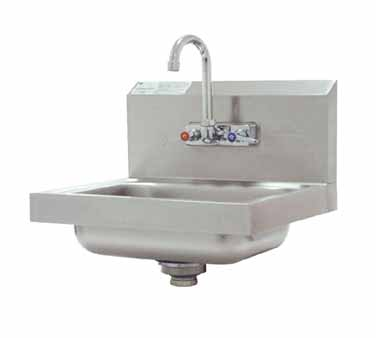 Advance Tabco 7-PS-67 Wall Mounted Hand Sink With Splash Mount Faucet