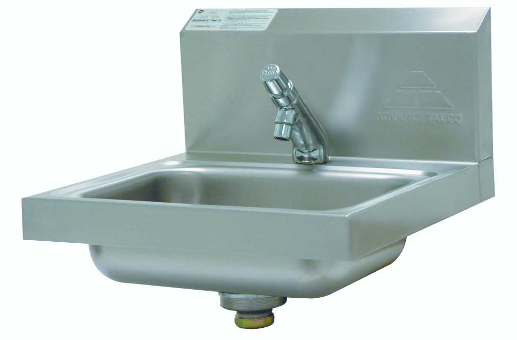 Advance Tabco 7-PS-72 Wall Mounted H.A.C.C.P. Compliant Hand Sink
