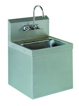 Advance Tabco 7-PS-747 Wall Mounted Hand Sink with Security Installation