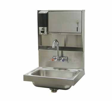 Advance Tabco 7-PS-79 Wall Mounted Hand Sink with Soap and Towel Dispenser