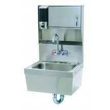 Advance Tabco 7-PS-85 Wall Mounted Hand Sink With Soap and Towel Dispenser