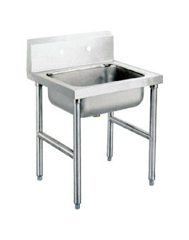 """Advance Tabco 8-OP-16 One Compartment Service Sink, 16"""" x 20"""" x 8"""""""