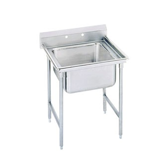 Advance Tabco 9-41-24 One Compartment Sink, 33""