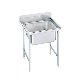 Advance Tabco 9-41-24 Regaline One Compartment Sink, 33""