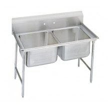 Advance Tabco 93-22-40 Regaline Two Compartment Sink, 52""