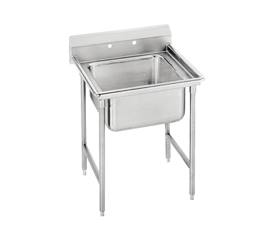 """Advance Tabco 93-81-20 One Compartment Sink with Left Drainboard, 29"""""""