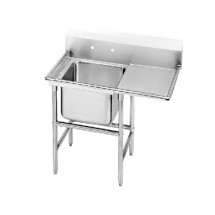 Advance Tabco 94-1-24-18R One Compartment Sink with Right Drainboard, 40""