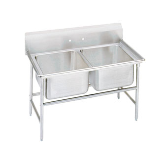 Advance Tabco 94-42-48 Regaline Two Compartment Sink, 60""