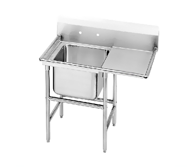 Advance Tabco 94-61-18-24R One Compartment Sink with Right Drainboard, 48""