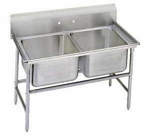 Advance Tabco 94-62-36 Regaline Two Compartment Sink, 48""