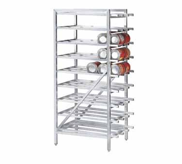 Advance Tabco CR10-162 Stationary Aluminum Can Storage Rack