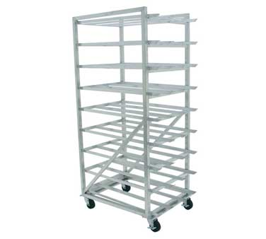 Advance Tabco CR10-162M Mobile Can Storage Rack For # 5 and # 10 Cans