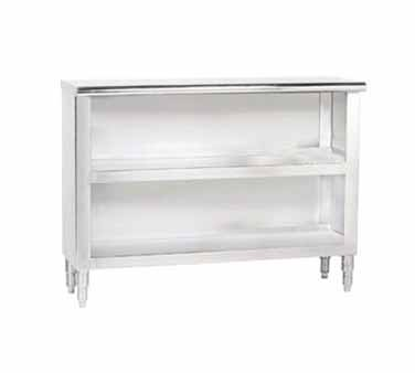 "Advance Tabco DC-157 Stainless Steel Dish Cabinet, 84"" x 15"""