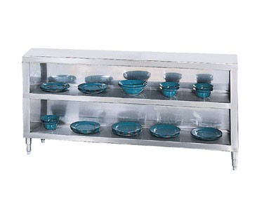 "Advance Tabco DC-188 Stainless Steel Dish Cabinet, 96"" x 18"""