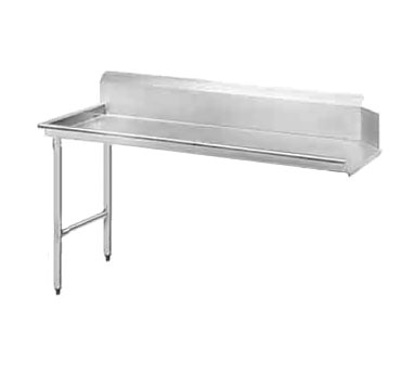 """Advance Tabco DTC-S70-48L 47"""" Left to Right Straight Clean Dishtable"""