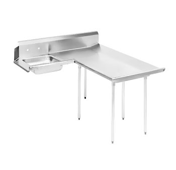 "Advance Tabco DTS-D60-48R 47"" Right to Left Dishlanding Soil Dishtable"