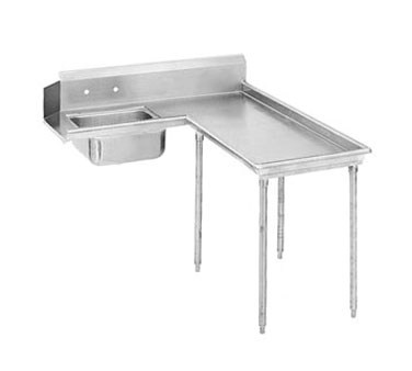 "Advance Tabco DTS-G60-48R 47"" Island Soil Dishtable"