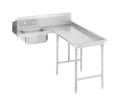 "Advance Tabco DTS-G70-144R 143"" Island Soil Dishtable"