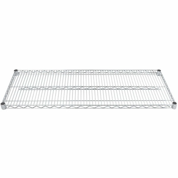 "Advance Tabco EC-1472 14"" x 72"" Chrome Wire Shelving"