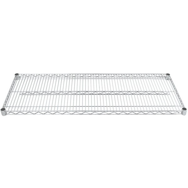 "Advance Tabco EC-2472 24"" x 72"" Chrome Wire Shelving"