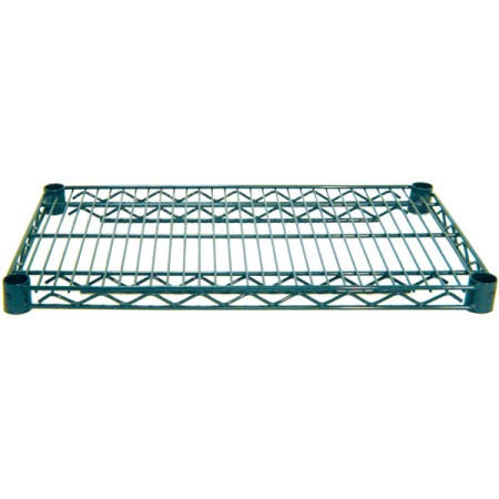 "Advance Tabco EG-2460 Green Epoxy Coated Wire Shelf 24"" x 60"""
