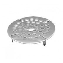 Advance Tabco K-410 Replacement Stainless Steel Strainer Plate for K-5 and K-15 Twist Handle Drain