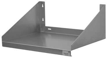 "Advance Tabco MS-24-24 24"" Stainless Steel Microwave Shelf"