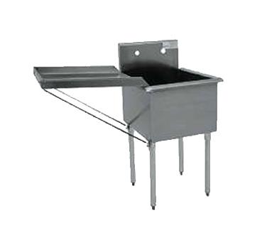 "Advance Tabco N-5-818 Detachable Drainboard, 18"" x 18"""