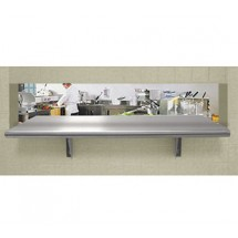 "Advance Tabco PA-18-120 18"" x 120"" Pass-Thru Shelf"