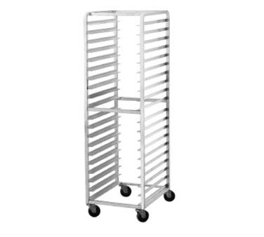Advance Tabco PR10-3W Front Load Mobile Half Size Bun Pan Rack, 10-Pan Capacity