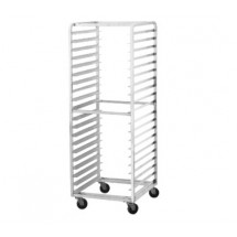 Advance Tabco PR10-6WS-Side Load Mobile Bun Pan Rack, 10-Pan Capacity